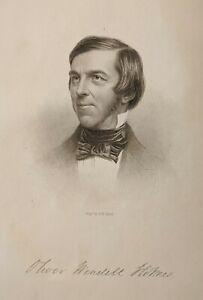 Knickerbocker Magazine 1858 Vol. LII with poem by Oliver Wendell Holmes