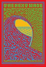 Next Wave POSTER Gallery Show Surf Art Signed John Van Hamersveld