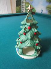 "Goebel Christmas Tree Votive Candle Holder 7 X 4"" Nib [*Nib5]"