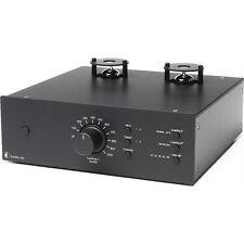 Pro-Ject Tube Box DS2 Premium MM/MC Phono Röhren Vorverstärker Preamp in schwarz