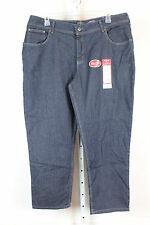 Riders by Lee Womens Relaxed Fit Waist Instant Slim Stretch Jeans 22W  P Blue H