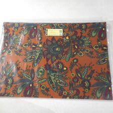 Longaberger Set of Two Savannah Floral Reversible Placemats #20360310 New