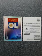 PANINI CHAMPIONS LEAGUE 2011/12 NR. 226 BADGE OLYMPIQUE LYONNAIS