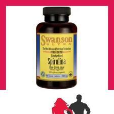 Swanson - Spirulina Blue-Green Algae 10% Phycocyanin, 500mg - 90 vcaps