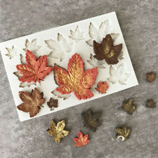 Maple Leaf Silicone Fondant Mold Cake Decorating Chocolate Leaves Baking Mould