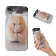 Lindo Hamster 4 teléfono duro funda para Apple iPhone