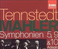 Mahler: Symphonies Nos. 5, 9, 10 (Adagio) (CD, Dec-1992, 3 Discs, EMI Music Dist