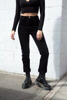 New! Brandy Melville black high rise Jane corduroy pants NWT sz M