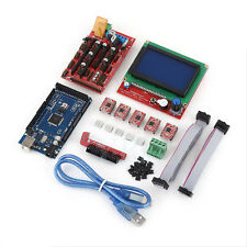 3D Printer Kit MEGA2560+RAMPS1.4+5xA4988+12864 LCD Controller For Arduino RepRap