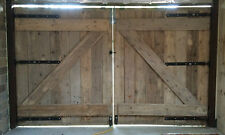 CHUNKY SOLID WOODEN GARAGE DOORS ~ MADE TO ANY SIZE ~