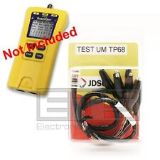 Test-Um JDSU Testifier TP350 TP68 2ft. RJ45 Plug To 8 Mini Alligator Clip Set