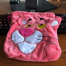 Pink Panther leopard handbag drawstring storage bag makeup bags phone holder