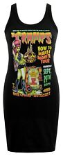 WOMENS PSYCHOBILLY DRESS JOHNNY ACE CRAMPS ZOMBIE PIN-UP MONSTER HOUSE OF BLUES
