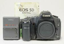 Canon 5D 12.8 MP DSLR w/ Charger, Battery, & Manual, ROUGH - MUST READ! (6668)