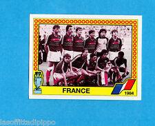 EURO '88 - PANINI -Figurina n.17- FRANCIA - SQUADRA/TEAM 1984 -Recuperata