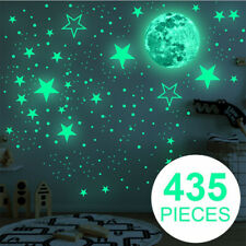 435 PCS Glow In The Dark Luminous Stars And Moon Planet Space Wall Stickers