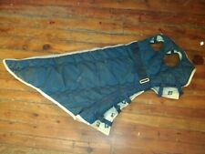 Big D blue Nylon winter Horse horse hood (box 136)
