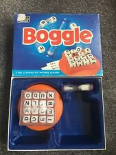 BOGGLE THE 3 MINUTE WORD GAME! PARKER 1996 COMPLETE