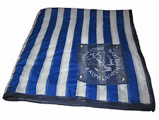 Ralph Lauren Polo Royal Blue Nautical Anchor Yacht Stripe Ladies Fashion Scarf