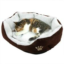 Cozy Warm Soft Fleece Pet Dog Puppy Cat Bed House Nest with Kennel Plush Mat US