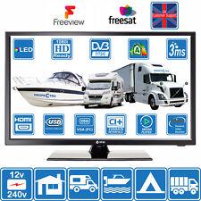 22 Inch FHD LED Digital TV 12/240 Volt USB PVR MOTORHOME MOTORHOME CARAVAN BOAT