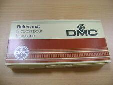 DMC  coton à canevas retord mat  DMC numéro 2931 nuancier DMC lot de 3