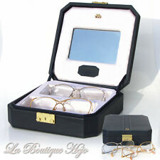 vintage ROTHSCHILD Luxus Brille Set R-1041, R-18, 18k Gold Glasses Lunettes Case