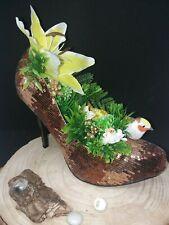 bepflanzter High Heel Stöckelschuh Dekoration Fashion Geschenk Idee