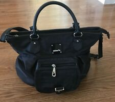 Mimosa Brand Women's Hand Bag Black Color Large Size