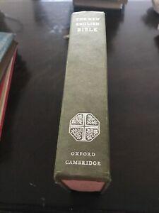 THE NEW ENGLISH BIBLE - 1970 - OXFORD CAMBRIDGE PRESS