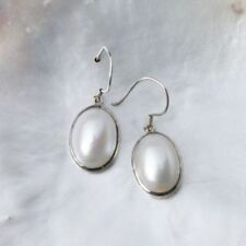 Markenlose echte Perlen-Ohrschmuck Hakenverschluss