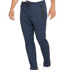 Kenneth Cole Reaction NEW Navy Blue Men Small S Stretch Drawstring Pants $69 006