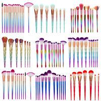 Profesional Maquillaje Set de brochas Base Colorete Corrector Sombra ojos