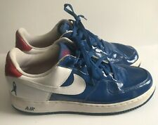 6f81218bf3a7 Mens Nike Air Force 1 Sheed Low Shoes Blue White Red Size 13