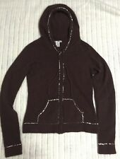 Women's Kenzie Angora Blend Hooded Sweater, Size M