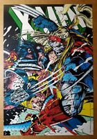 X-Men 5 Wolverine Logan Weapon X Omega Red Marvel Comics Poster by Jim Lee