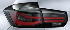 NEW GENUINE BMW 3 F31 FACELIFT LED M PERFORMANCE BLACK LINE EURO TAIL LIGHTS