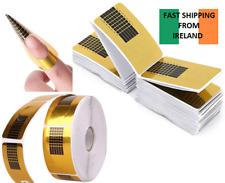 100pcs Nail Form for Acrylic UV Gel Nails Extension Nail Art