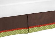Sweet Jojo Designs Toddler Bed Skirt for Forest Friends Animal Kids Bedding Set