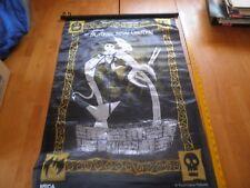 The Nightmare Before Christmas vintage wall scroll fabric Tim Burton