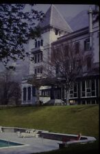 35mm Colour Slide- House with Pool in Switzerland 1970's