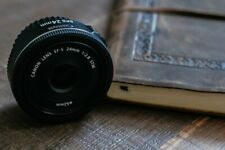 Canon EF-S 24mm F 2.8 STM Lens *Pancake Lens*