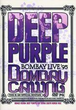 Deep Purple Bombay LIVE '95 Bombay Calling Concert DVD NEW, SEALED! + BONUS!