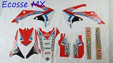 Honda CRF450R 2009-2012 CRF250R 2010-2013 NEW FLU PTS4 Graphics Stickers Decals