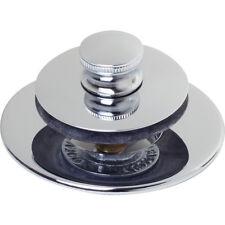 Watco® Original Nufit® Bathtub Drain Stopper Lift & Turn - Universal Fit Chrome