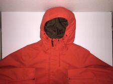 Burton Shell Snowboarding Jacket, Women's Medium, Orange/Red