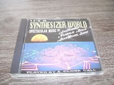 It's A Synthesizer World Played by : A Close Call * CD Belgium 1989 RARE *