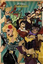 24x36 DC Comics Bombshell Villian Hero Poster Shrink Wrapped