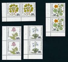 Postfrische Briefmarken aus der BRD (ab 1948) mit Pflanzen-Motiv als Satz