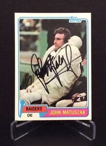 JOHN MATUSZAK AUTOGRAPHED CARD